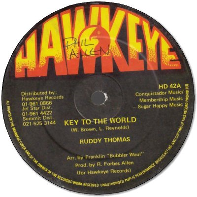 KEY TO THE WORLD (VG+)