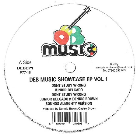 DEB MUSIC SHOWACASE E.P. Vol.1