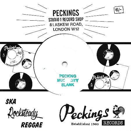 HOLLY MOUNT ZION / TRIBUTE TO DADDY PECKINGS(aka SIR PECKINGS SPECIAL)