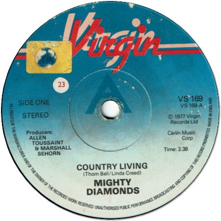 COUNTRY LIVING (VG) / COMING THROUGH (VG+)