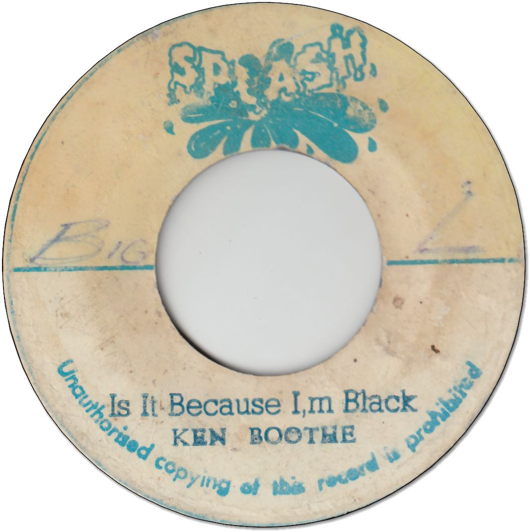 IS IT BECAUSE I'M BLACK (VG) / VERSION