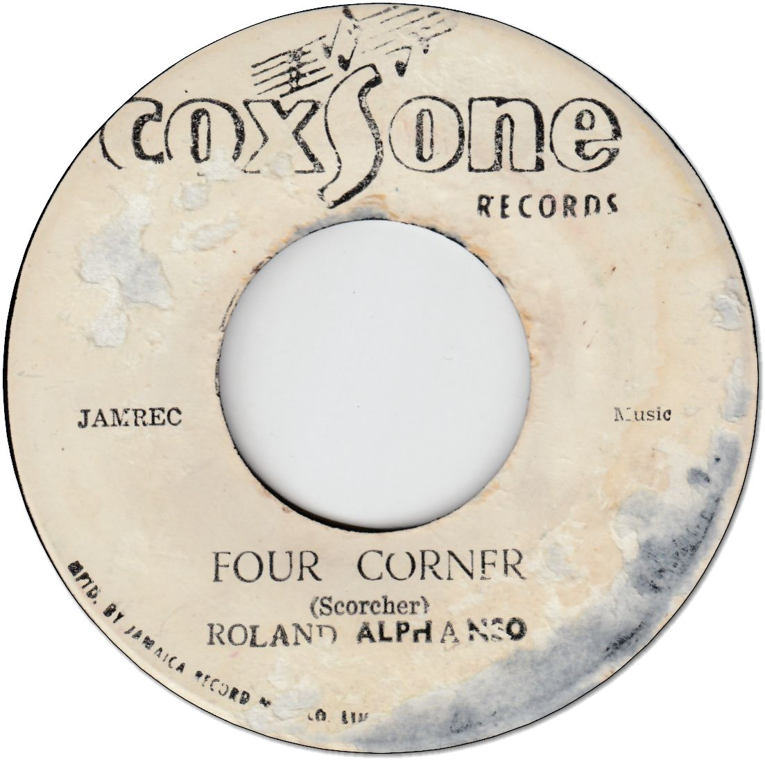 FOUR CORNER (VG) / LOVE OR BE LOVE (VG)