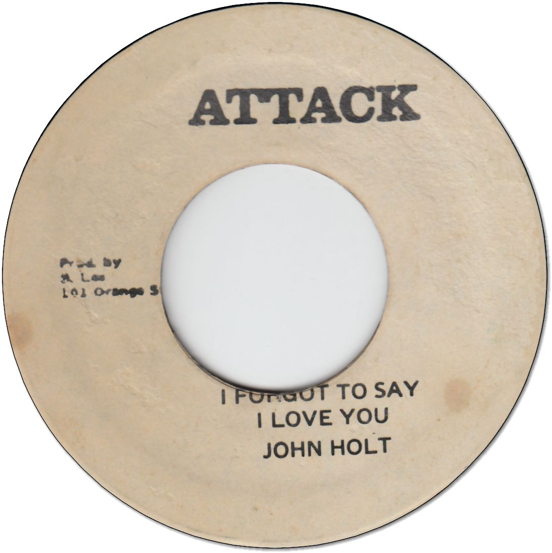 I FORGET TO SAY I LOVE YOU (VG) / VERSION (VG)