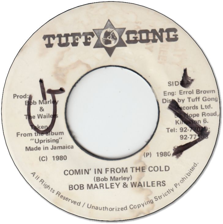 COMIN IN FROM THE COLD (VG+/WOL) / DUBBIN IN (VG)