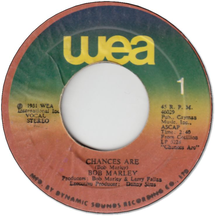 CHANCES ARE (VG+) / GONNA GET YOU (VG+)