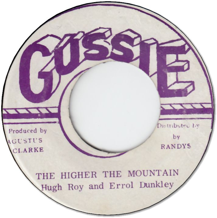 THE HIGHER THE MOUNTAIN (VG+)