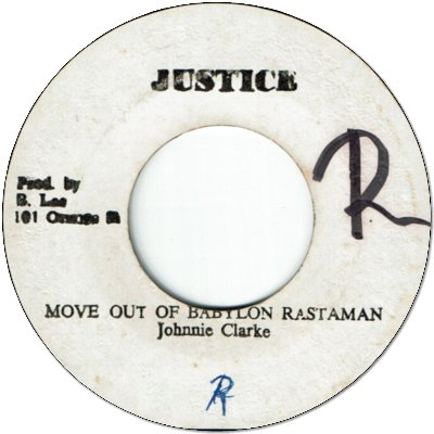 MOVE OUT OF BABYLON RASTAMAN (VG+/WOL) / MOVING VERSION (VG)