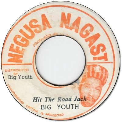 HIT THE ROAD JACK (VG+)
