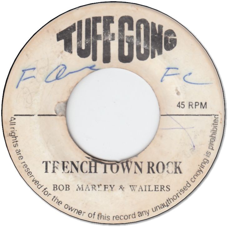 TRENCH TOWN ROCK (VG/WOL) / GROOVING KGN.12
