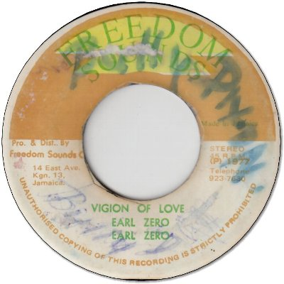 VIGION OF LOVE (VG+/WOL) / VERSION (VG+/WOL)