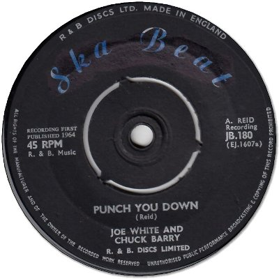 PUNCH YOU DOWN (VG+) / COTTON TREE (VG+)