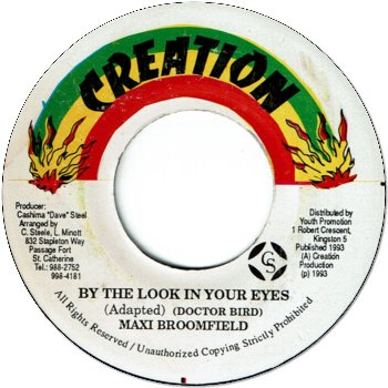 BY THE LOOK IN YOUR EYES (VG)