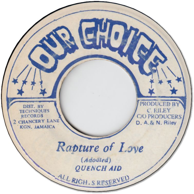 RAPTURE OF LOVE (VG+)
