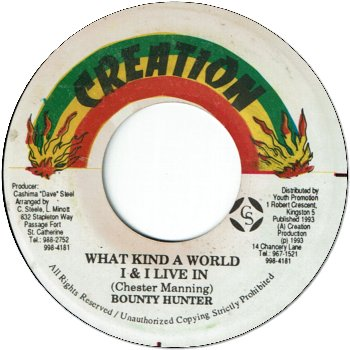 WHAT KIND A WORLD I & I LIVE IN (VG+)