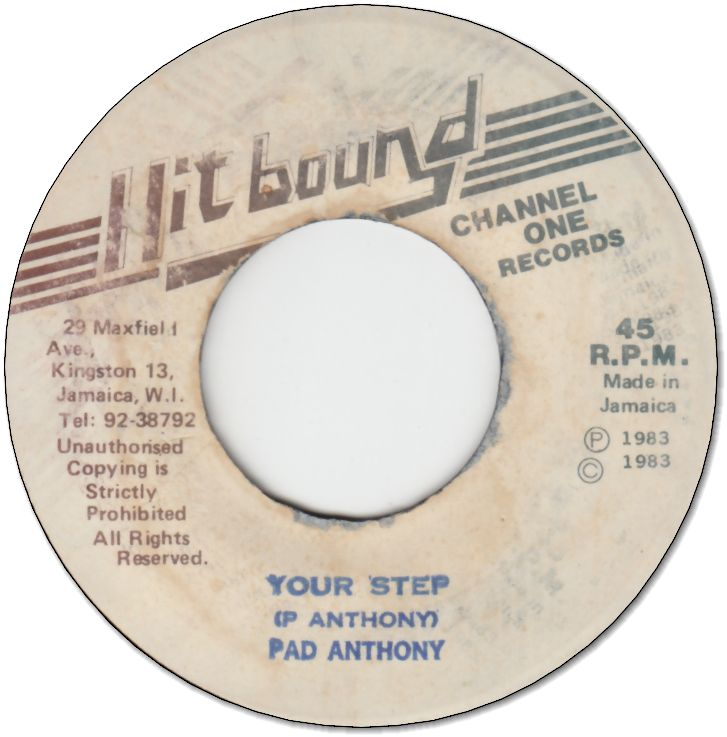 YOUR STEP (VG+) / DUB (VG+)