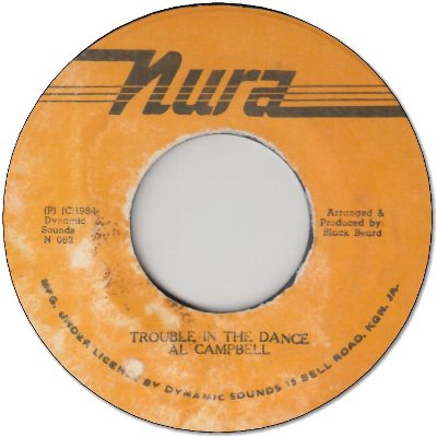 TROUBLE IN THE DANCE (VG+) / VERSION (VG)