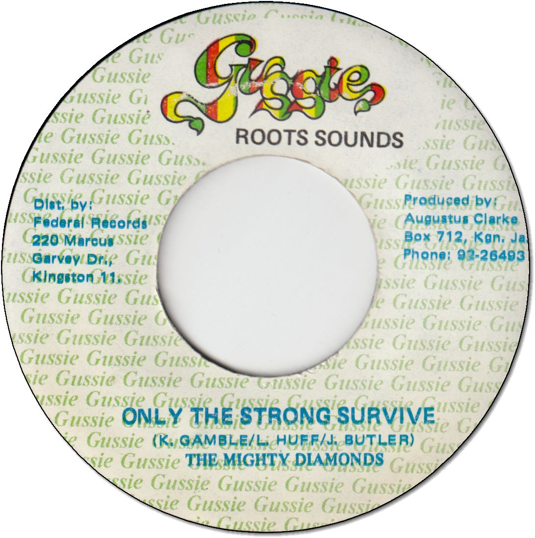 ONLY THE STRONG SURVIVE (VG+)