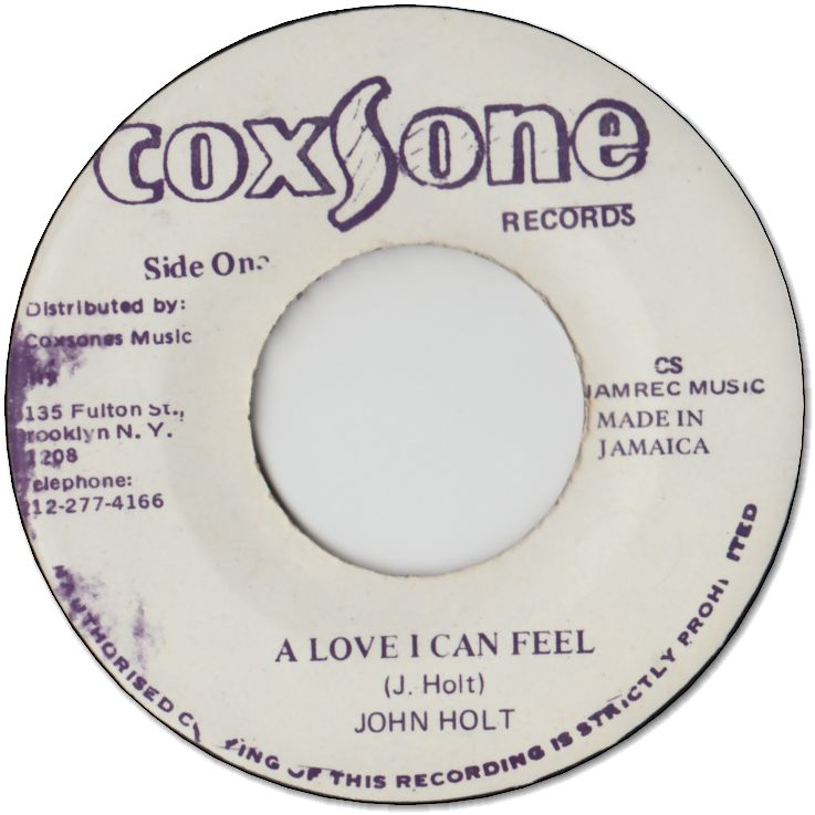 A LOVE I CAN FEEL(VG) / VERSION