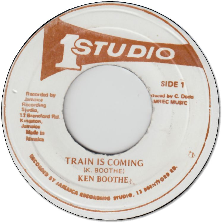 TRAIN IS COMING (VG+) / FEEL IT (VG)