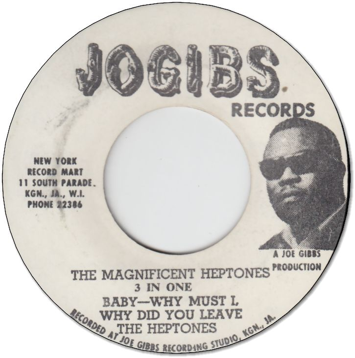 THE MAGNIFICENT HEPTONES(VG+)