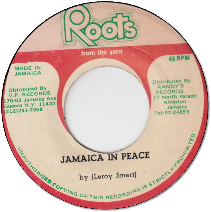 FIND YOUR DESTINATION (VG+) / JAMAICA IN PEACE (VG+)