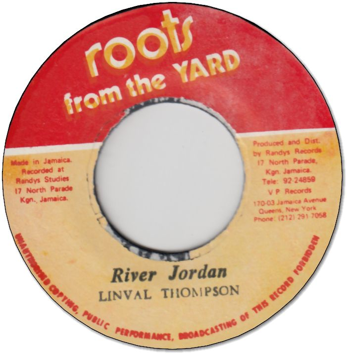 RIVER JORDAN (VG+) / VERSION (VG)